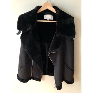Two by Vince Camuto • M • Faux Shearling Moro Vest